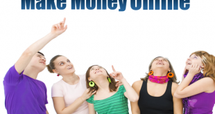 makes money online