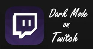 How to change Twitch to dark mode